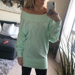 NWT Free People off shoulder tunic